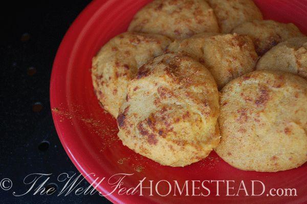 Coconut flour snickerdoodles