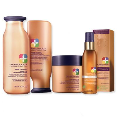 Would this work for my hair? {Pureology Precious Oil System}