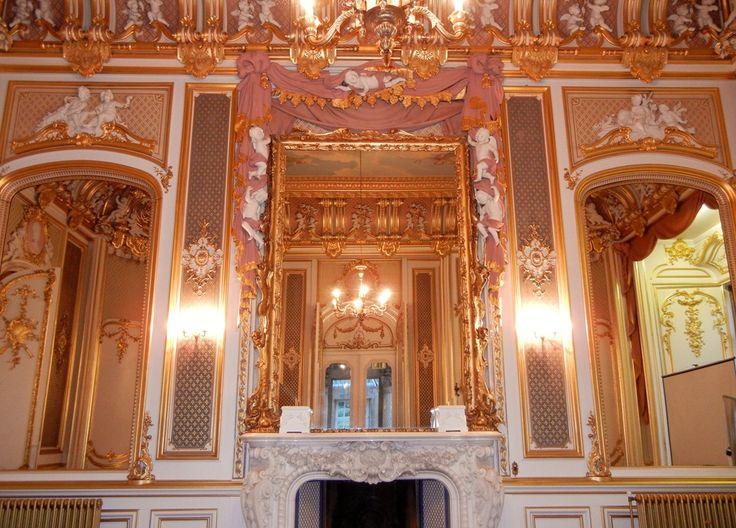 Harlaxton Manor.  The Gold Room.