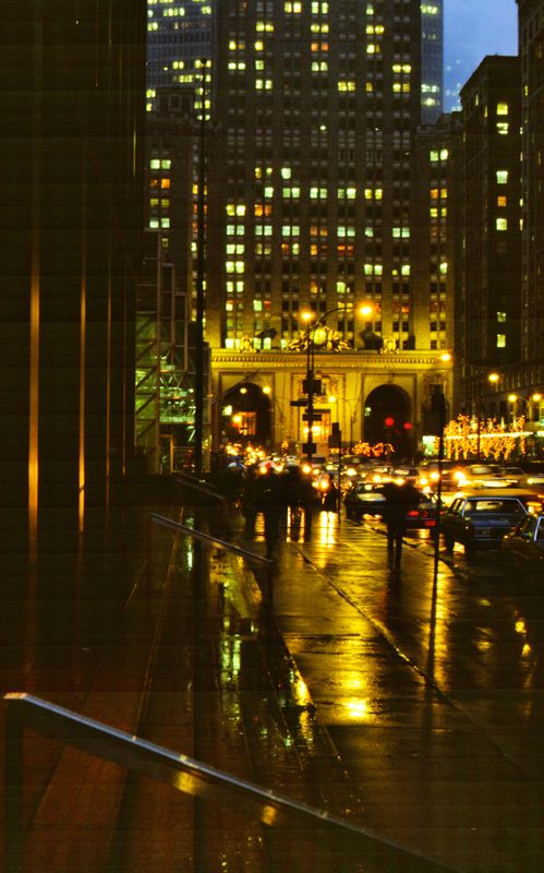 Rainy night in New York City Copyright: Stephen Nunney