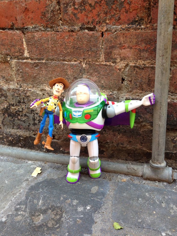 Buzz and Woody ....lane way North Melbourne
