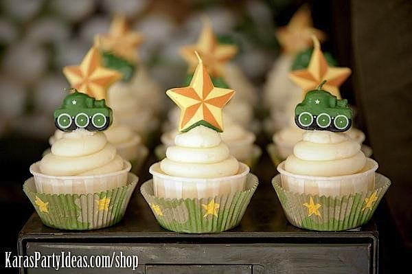 Army Camouflage Themed Birthday Party Planning Ideas via Kara's Party Ideas - www.KarasPartyIdeas.com-24