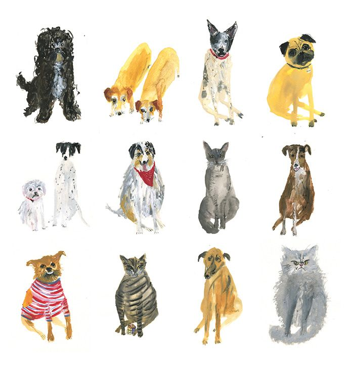 Dogs with personality. #etsy
