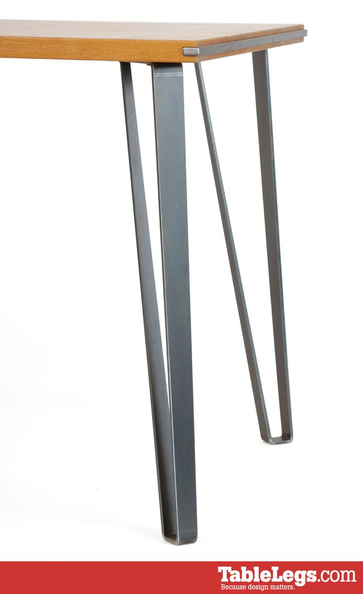 Industrial Metal Tapered Dining Table Leg 28 Dining Table Legs