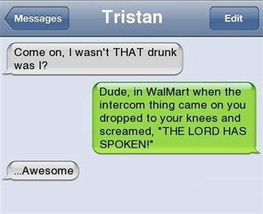 23 Drunk Text Fails   Yassss