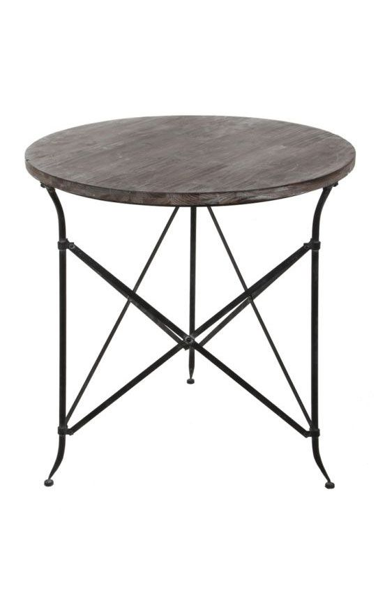 17 best images about furnishings on pinterest hooker for Iron and wood side table