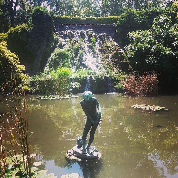 Japanese Garden, Margaret Island, Budapest, Hungary.