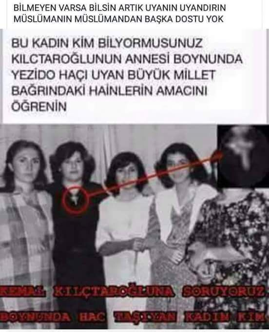 "hadiceeks auf Twitter: ""#KemalizmSektördür fitne Tohumdur. https://t.co/JltxToxcV0"""