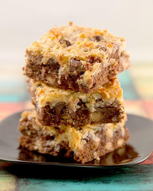 Peanut butter Macaroon Cookie Bars