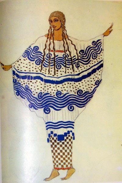 Стилизация древней греции костюм