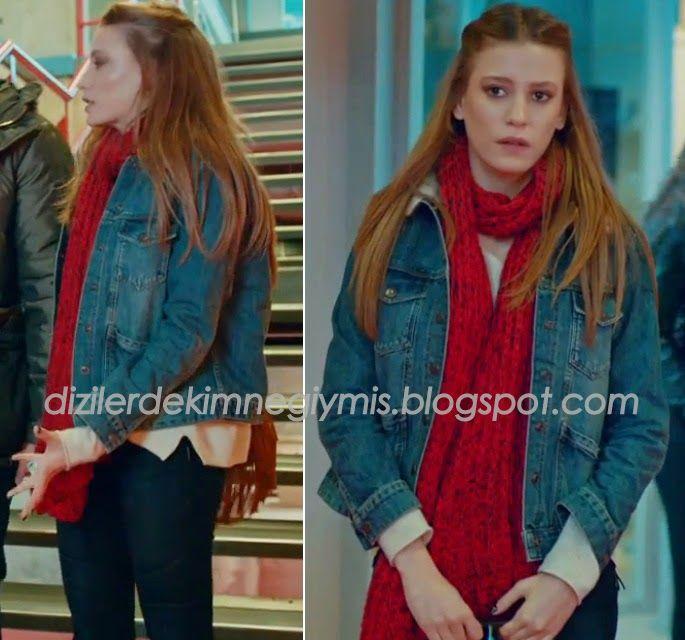 Medcezir - Mira (Serenay Sarıkaya), Topshop Denim Jacket