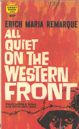 Grapes of Wrath and All Quiet on the Western Front Essays.?