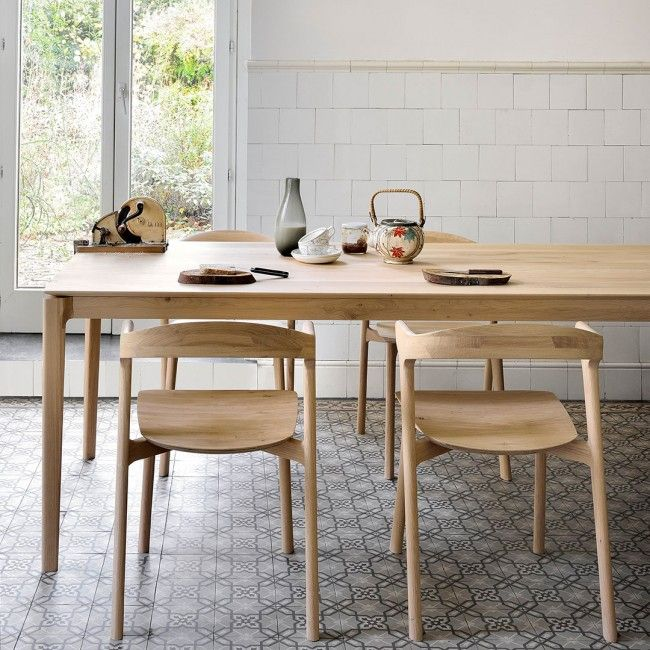 Bok Dining Table by Ethnicraft Oak | Clickon Furniture