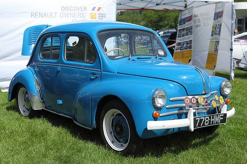 Renault 4CV, my father had one of these great little cars.