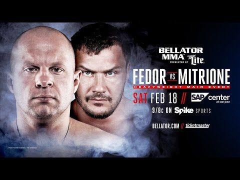 MMA MMA NEWS; UFC & Bellator results, Fedor fighting Mitrione