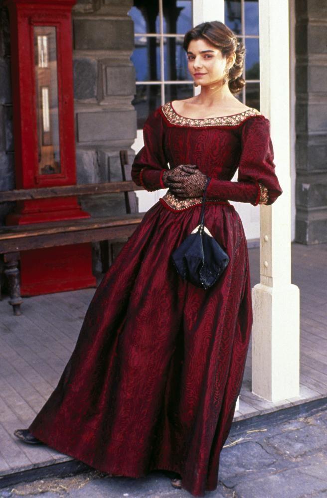 "Laura San Giacomo - ""Quigley Down Under"" (1990) - Costume designer : Wayne Finkleman"