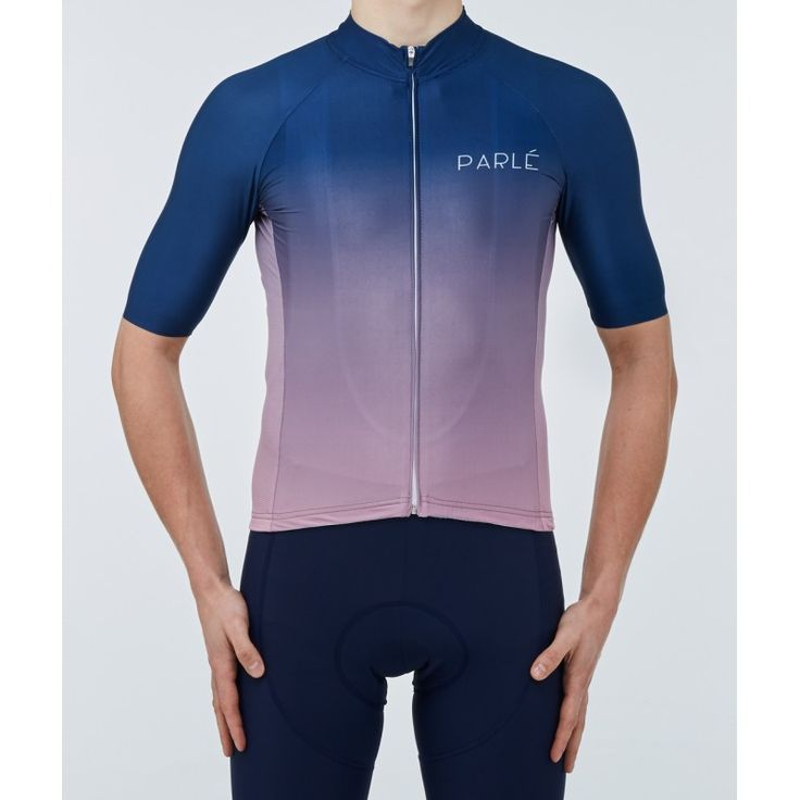 https://parle.cc/en/jerseys/16-deep-ocean-jersey.html Parlé Cycling. Deep Ocean Jersey. Aerodynamic, fully-fashioned slim-fit jersey. Silicon trimmings, applied inside the sleeves and at the bottom of the shirt, prevents hitching up and provides better driving comfort. Lightweight Italian fabrics give a guarantee of exceptional stretch and excellent ventilation. Blue Ocean Jersey is for those who appreciate a sophisticated combination of colours, with a sporty cut.