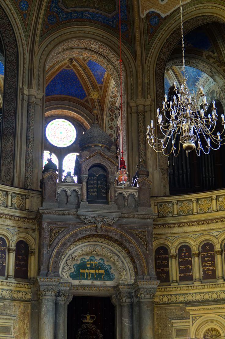 inside the synagoge plzen