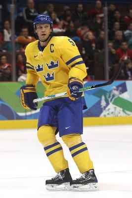 Hockey great Nick Lidstrom from Sweden