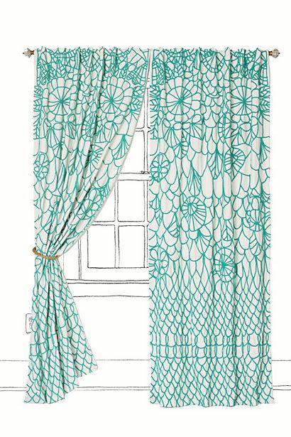 Soraya Curtain #anthropologie...beautiful!!! Why must they be soooo $$$$$   :(: Ideas, Dining Room, Curtains, Living Room, Anthropologie Curtain, Anthropologie Com, Soraya Curtain, Bedroom