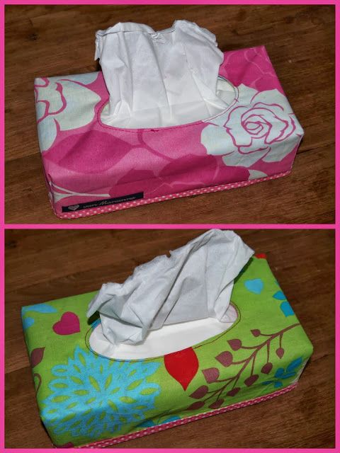 hoes tissuedoos naaien