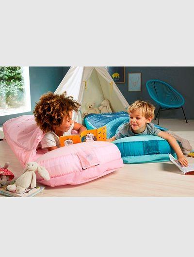 Schlafsack mit Luftmatratze mit  Luftpumpe 170 x 67 x 20 cm. Maschinenwaschbar.