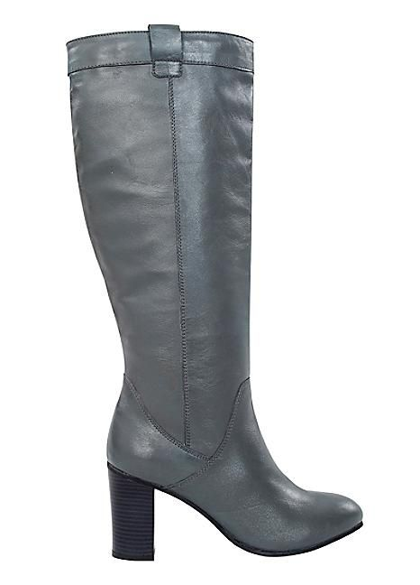 Pull On Leather Boots #Shoes #Boots #Heels