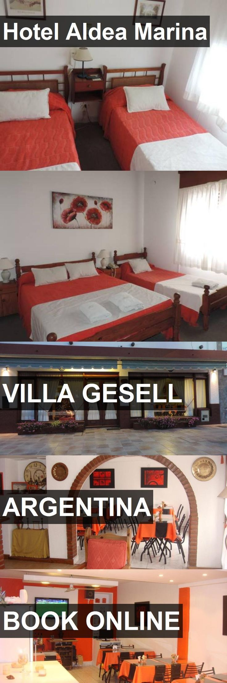 Hotel Aldea Marina in Villa Gesell, Argentina. For more information, photos, reviews and best prices please follow the link. #Argentina #VillaGesell #travel #vacation #hotel