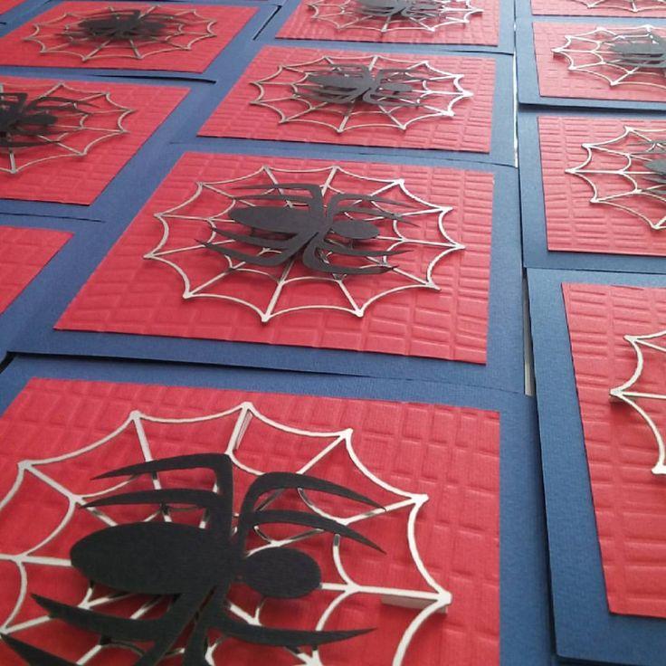 """13 Me gusta, 1 comentarios - ARTICHES (@artiches.mx) en Instagram: """"Listas nuestras invitaciones de Spiderman  #Spiderman #Invitaciones #PlanosSeriados #Telaraña…"""""""