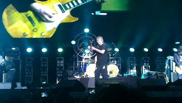 #StoneRosesJKT , Ian Brownnnn the legend of britpop, i was there !!