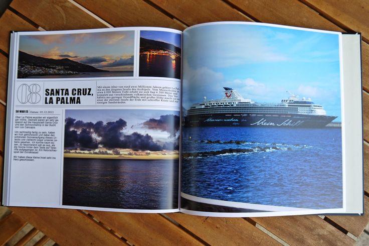 Reise Fotobuch mit Text