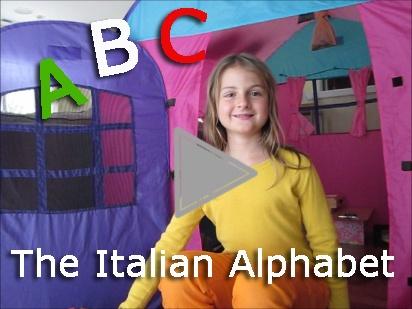 Italian Alphabet video: learn from a native speaker