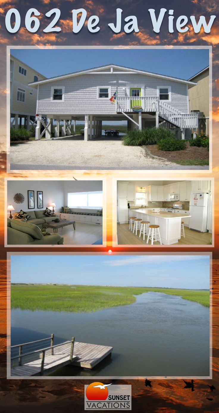 This Sunset Beach, North Carolina vacation rental home is absolutely beautiful! The spacious interior has gorgeous appointments, and there is room for up to 8 guests!