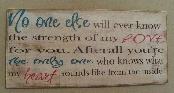Strength of my Love by DeenasDesign on Etsy, $58.00