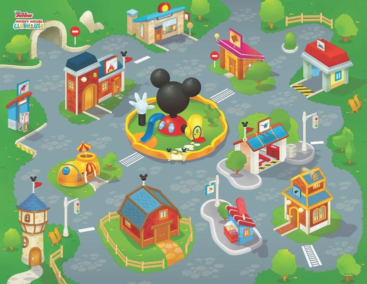 Disney Junior Mickey Mouse Clubhouse Jumbo Mega Playmat