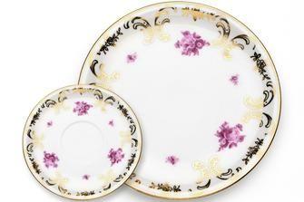 Come decorare un piatto di ceramica in stile inglese