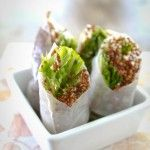 Sesame-Ginger and Quinoa Spring Rolls | Recipe | Spring Rolls, Grilled ...