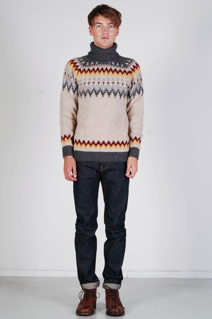 Nudie: Arthur Roll Neck Eco Wool - Yokiono www.yokiono.com