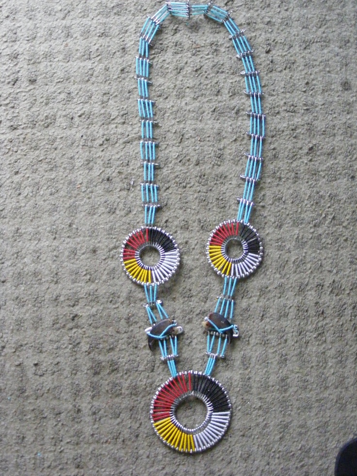I made this for my wife for christmas 2011 safety pins for Safety pins for jewelry making