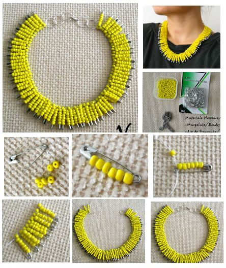 Pandahall.com offers you jewelry making ideas and easy picture instruction to help you to finish this unique neckalce.