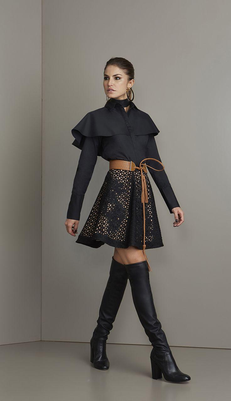 SAIA RENDA - SA16657-03 | Skazi, Moda feminina, roupa casual, vestidos, saias, mulher moderna