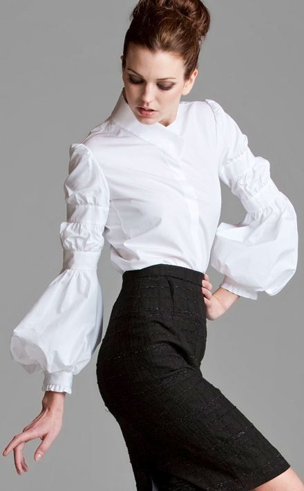 1094 best Shirts...Tops...White Shirt....Shirt Dress images on ...