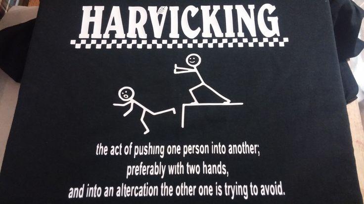 Harvicking Nascar Shirt by EmbroideryPlusDesign on Etsy