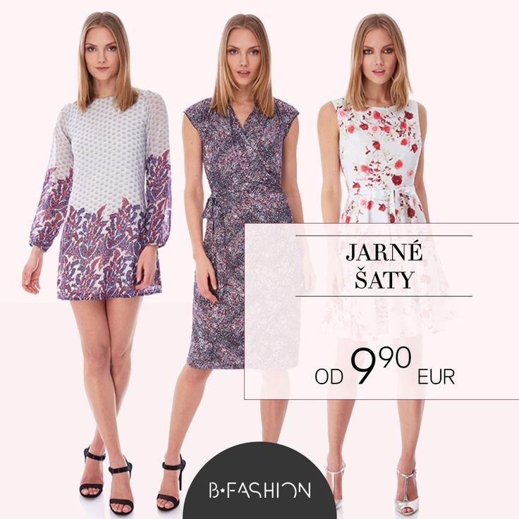 JARNÉ ŠATY OD 9.90 EUR  https://sk.bfashion.com/spring-dresses