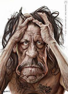 Danny Trejo [Hugh Laurie] #Caricature #FunnyFaces