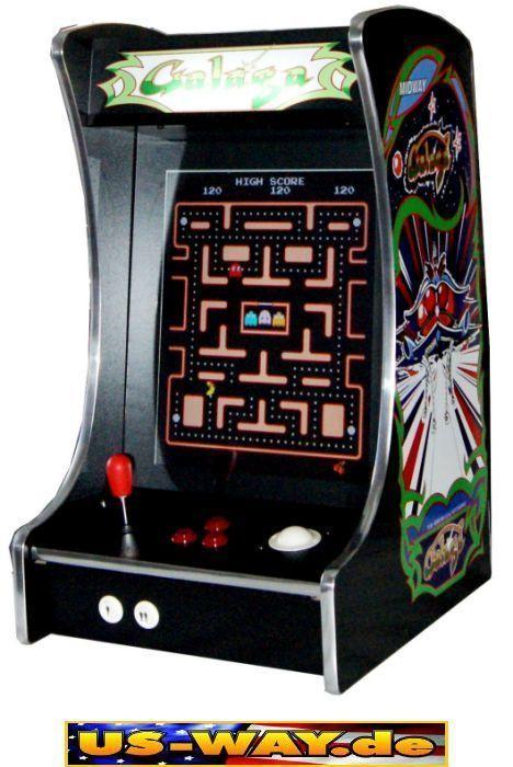 G-288 Galaga Classic Arcade TV Video Spielautomat Thekengerät, 412 Spiele in Sammeln & Seltenes, Technik & Geräte, Automaten | eBay