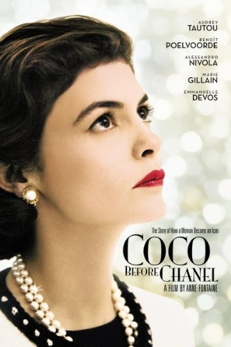 The 2009 movie Coco Before Chanel, is a biography of Coco Chanel's life before her most fashionable years. I love this movie because it takes you through the different ways women used style through several time periods.