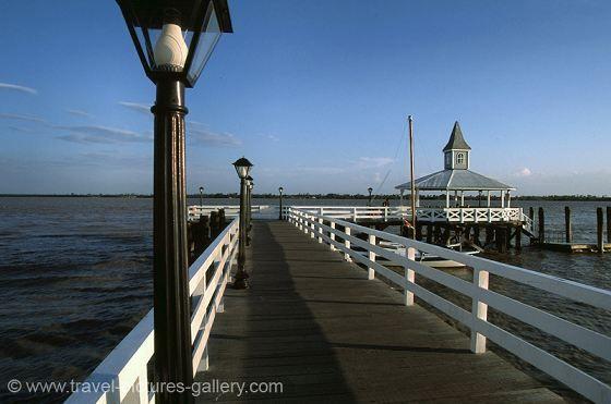 pier on the Suriname River, Paramaribo