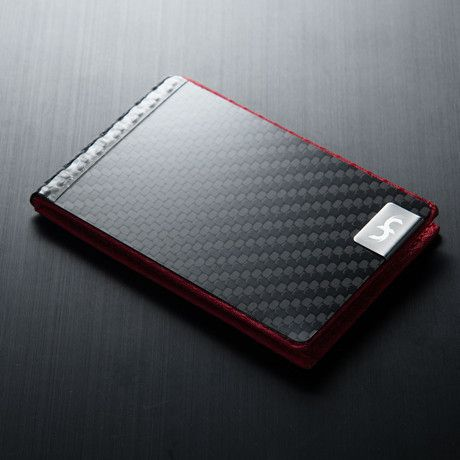 Slim Wallet (Red)