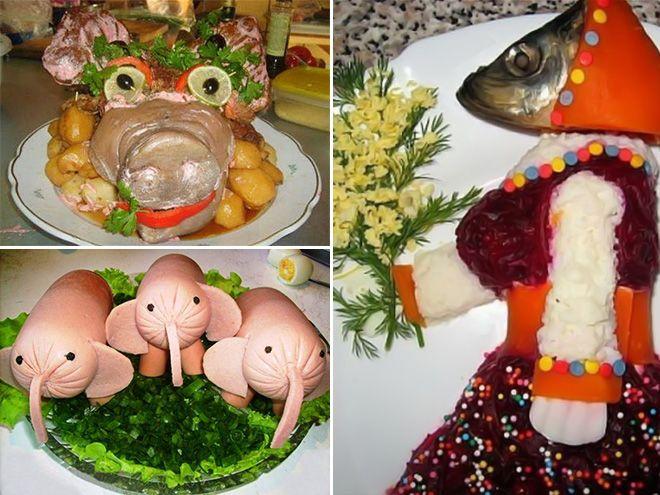 Russian Food Art